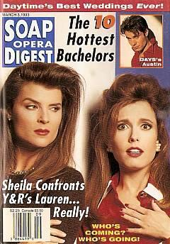 Soap Opera Digest March 3, 1993
