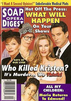 Soap Opera Digest - March 3, 1998
