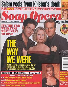 Soap Opera Magazine March 3, 1998