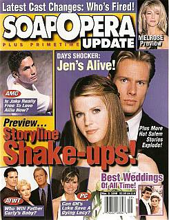 March 3, 1998 issue of Soap Opera Update magazine