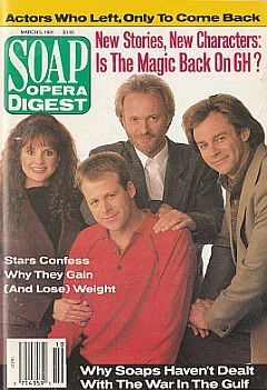 Soap Opera Digest March 5, 1991