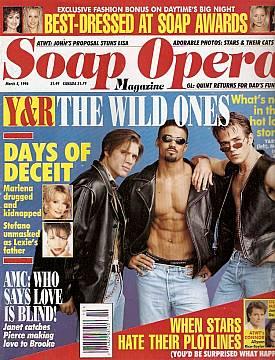 Soap Opera Magazine March 5, 1996