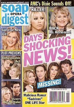 Soap Opera Digest March 6, 2007