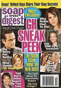 Soap Opera Digest March 6, 2012