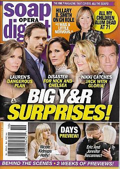 March 6, 2017 issue of Soap Opera Digest magazine