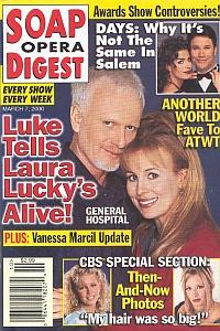 Soap Opera Digest - March 7, 2000