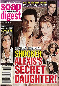 Soap Opera Digest March 7, 2006