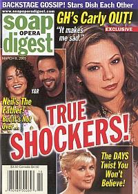 Soap Opera Digest March 8, 2005