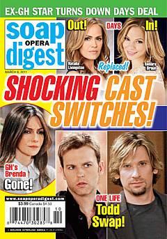 Soap Opera Digest March 8, 2011
