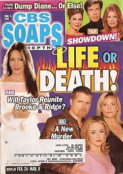 CBS Soaps In Depth March 9, 2004