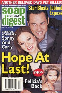 Soap Opera Digest March 9, 2004