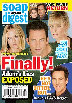 Soap Opera Digest Marcy 9, 2010