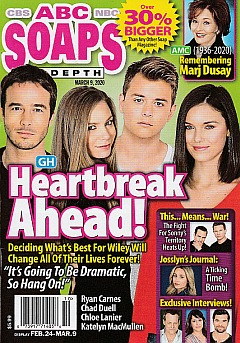 ABC Soaps In Depth March 9, 2020