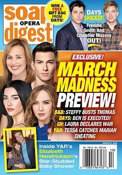 Soap Opera Digest March 9, 2020