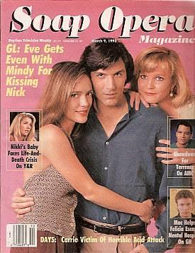 Soap Opera Magazine March 9, 1993