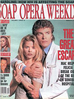 Soap Opera Weekly March 9, 1993