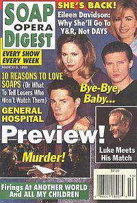 Soap Opera Digest - March 9, 1999