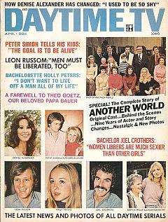 Daytime TV - April 1973