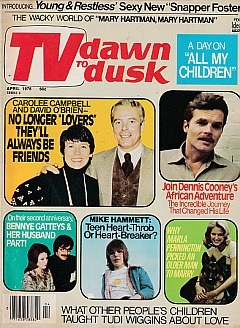 TV DAWN TO DUSK April 1976