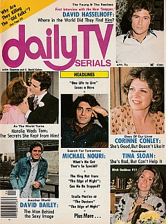 Daily TV Serials April 1976