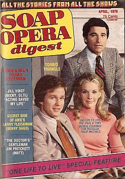 April 1978 issue of Soap Opera Digest