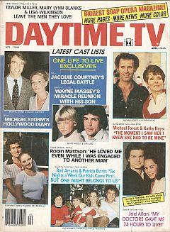 Daytime TV - April 1981