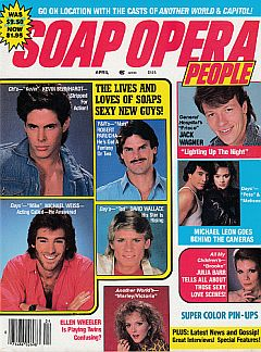 September 1986 issue of Soap Opera People magazine
