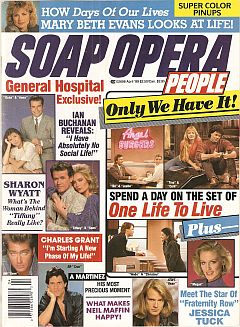Soap Opera People April 1989