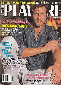 Playgirl Magazine April 1996