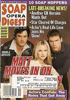Soap Opera Digest April 10, 2001