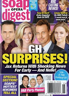 April 10, 2017 issue of Soap Opera Digest magazine