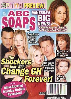 ABC Soaps In Depth April 1, 2003