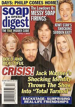 Soap Opera Digest April 1, 2003