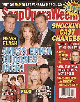 Soap Opera Weekly April 1, 2003