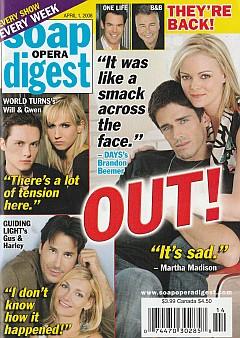 Soap Opera Digest April 1, 2008