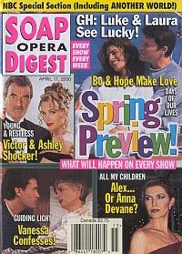 Soap Opera Digest - April 11, 2000