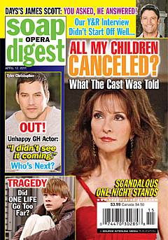 Soap Opera Digest April 12, 2011