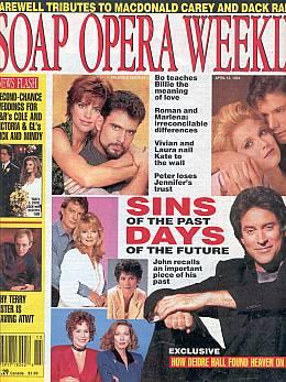 Soap Opera Weekly April 12, 1994