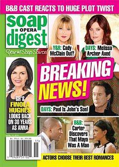 Soap Opera Digest April 13, 2015