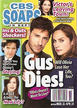 CBS Soaps In Depth April 14, 2008