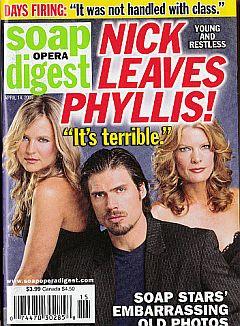 Soap Opera Digest April 14, 2009
