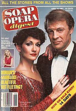 April 14, 1981 issue of Soap Opera Digest