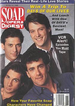 Soap Opera Digest April 14, 1992
