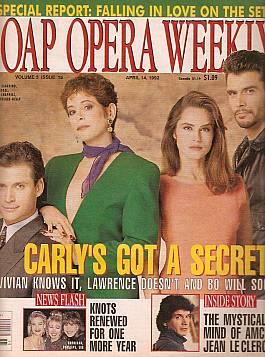 Soap Opera Weekly April 14, 1992