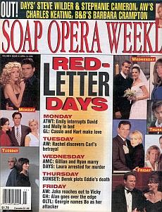 Soap Opera Weekly April 14, 1998