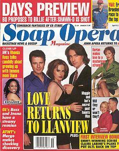 Soap Opera Magazine April 15, 1997
