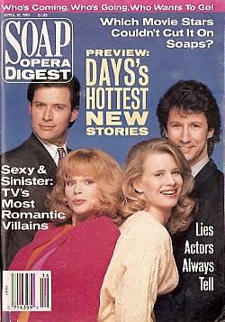 Soap Opera Digest April 16, 1991