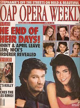 Soap Opera Weekly April 16, 1991