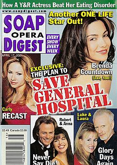 Soap Opera Digest April 17, 2001