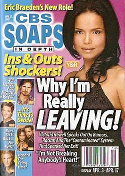 CBS Soaps In Depth April 17, 2007